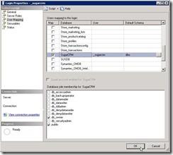 CreateUser in SQL
