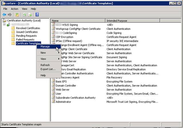 System center updates publisher microsoft pki system center i then proceeded to duplicate the computer certificate by right clicking the computer template then clicking duplicate template yelopaper Gallery